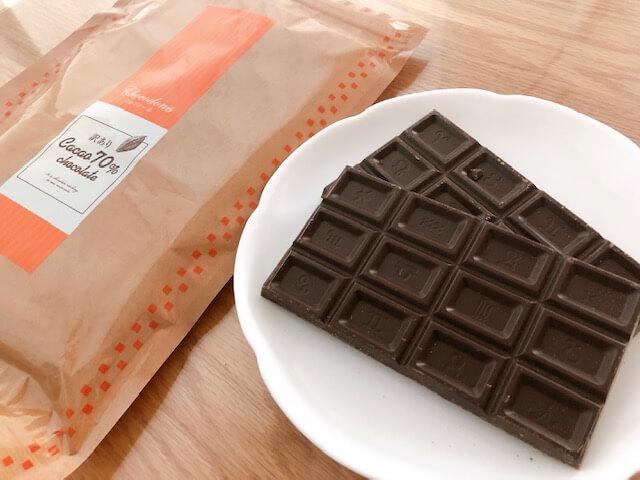 チョコテリーヌの材料