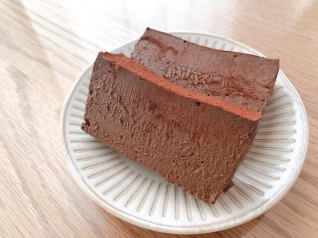 チョコテリーヌの完成
