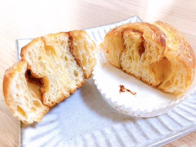 無印良品 糖質10g以下のパン シナモンロール③