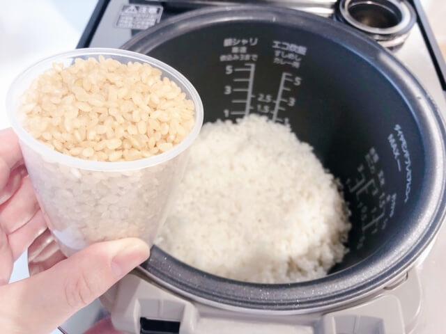 発芽米 炊き方