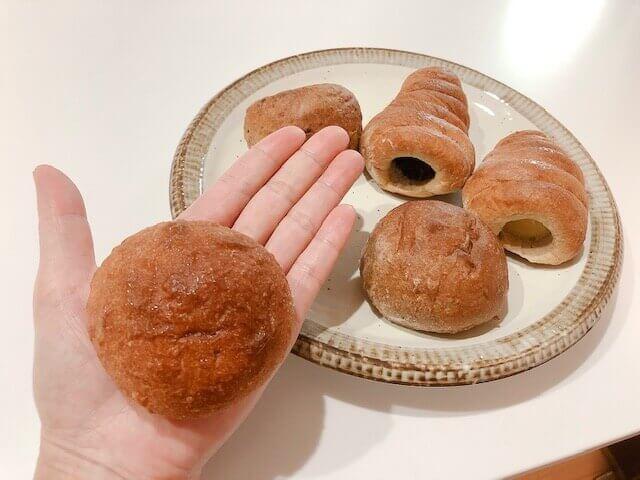【低糖工房の評判と口コミ】低糖質パンを食べてみた感想 手のひらサイズ